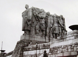 Stalin - pomník na Letné