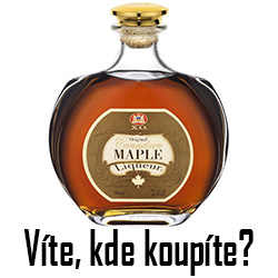 Maple likér- čtverec
